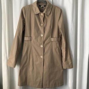 DKNY trench coat- bow in back